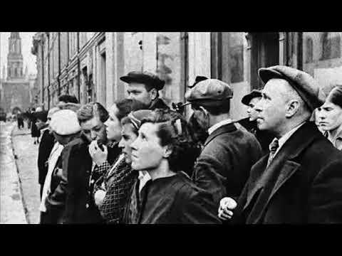 Левитан Внимание говорит Москва Объявление о начале войны