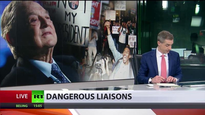 Bezahlte Proteste gegen Trump Wie George Soros den US Präsidenten stürzen will