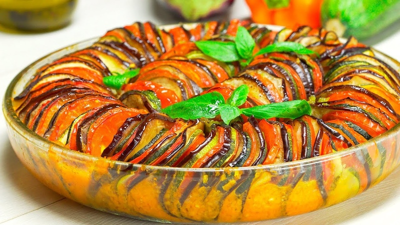 Рататуй овощное рагу знаменитое блюдо французской кухни Рецепт от Всегда Вкусно
