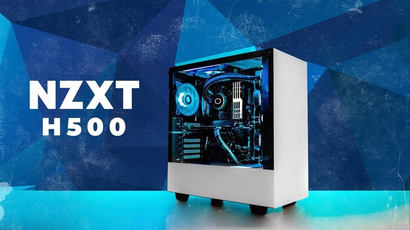 White Walker Ryzen - RGB Free NZXT H500 White Build