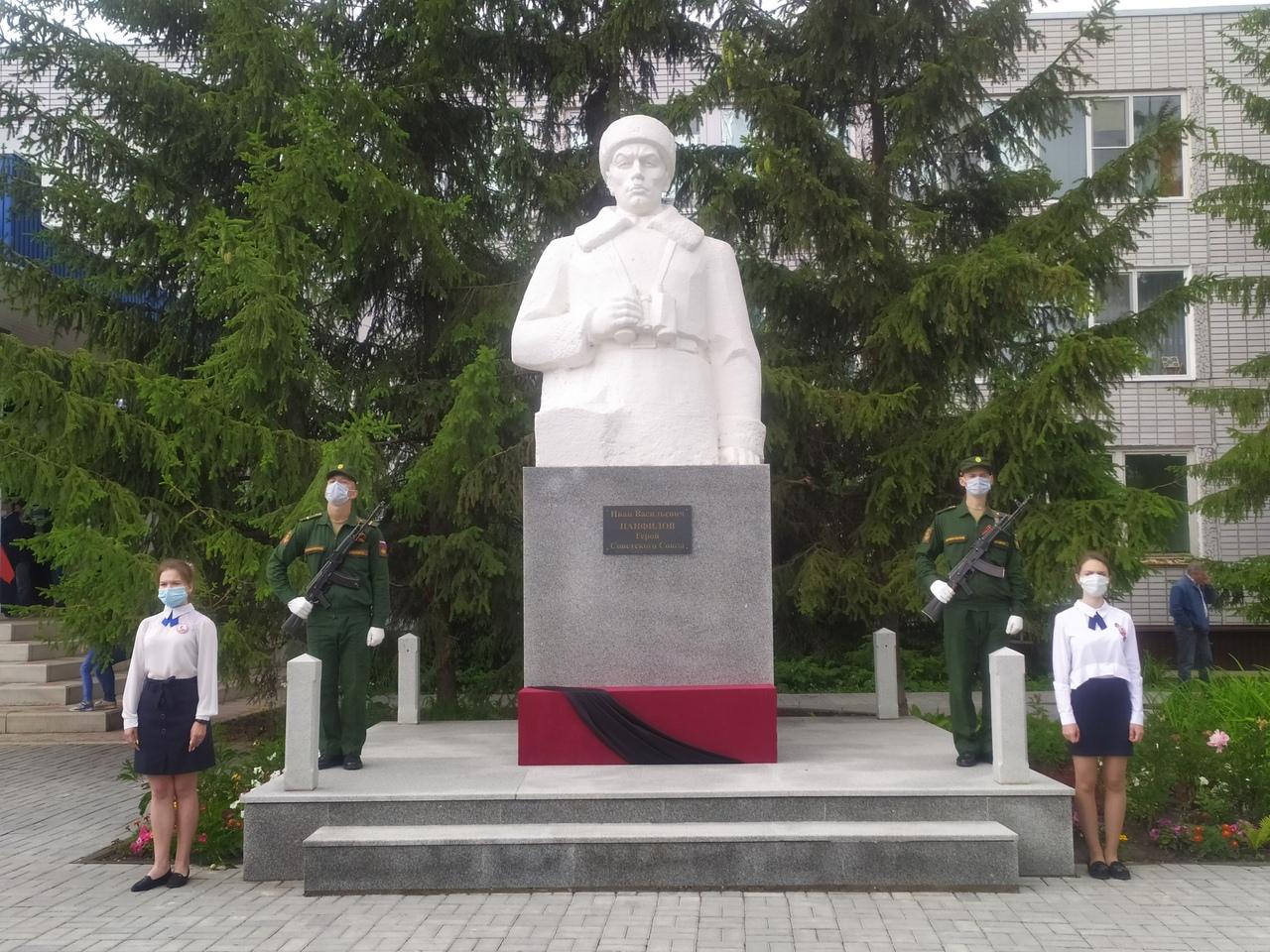 В Петровске состоялось торжественное шествие, посвящённое 75-летию легендарного Парада Победы 1945 года