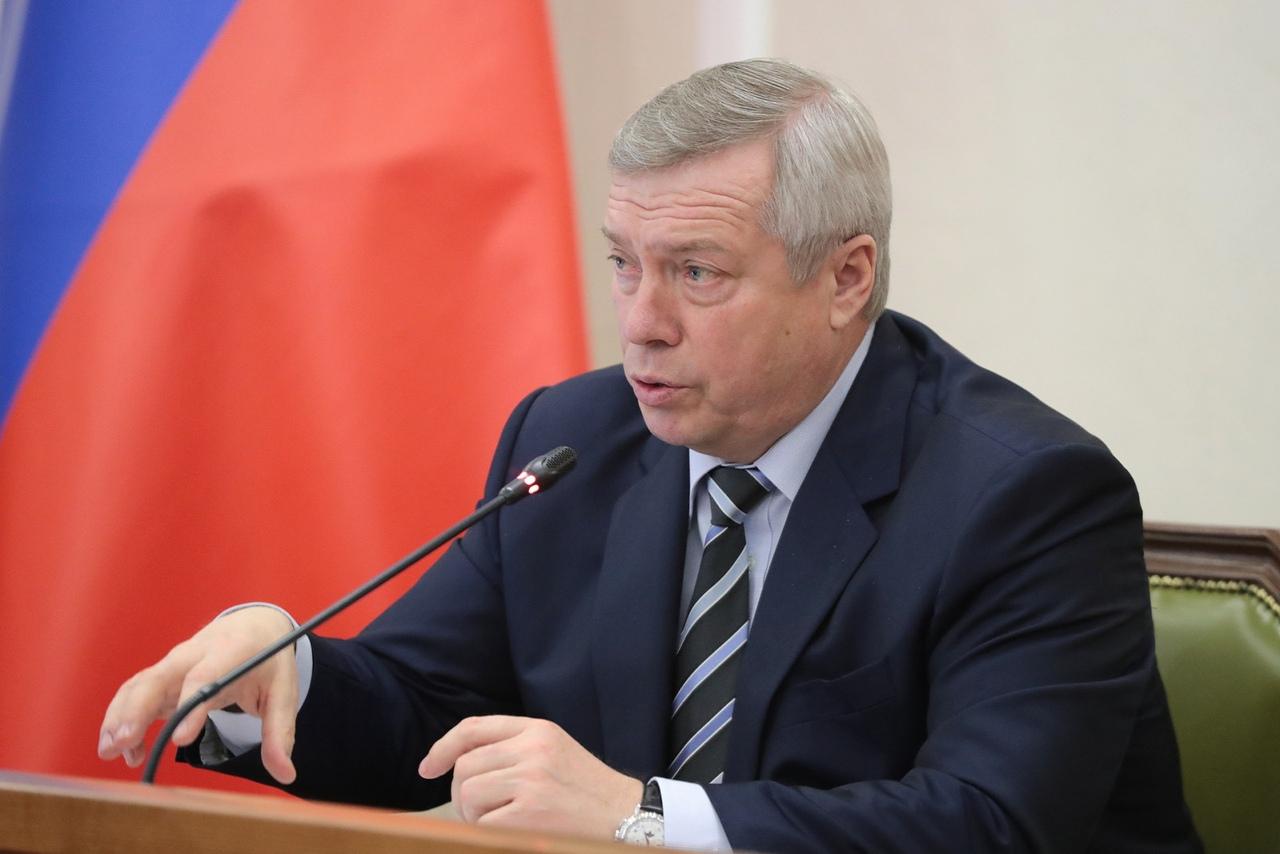 Губернатор Ростовской области Василий Голубев предложил депутатам вдвое снизить налоги для бизнеса