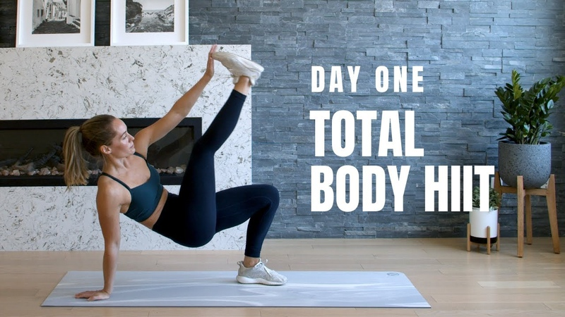 DAY 1 Home Workout Challenge Total Body HIIT No Equipment