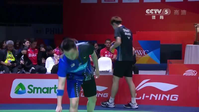 Kevin Sanjaya Sukamuljo Marcus Fernaldi Gideon vs Aaron Chia Soh Wooi Yik 2020 Badminton Asia