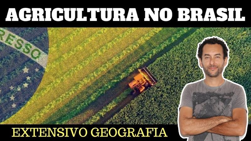 Agricultura no Brasil Agronegócio Agricultura familiar Geografia ENEM