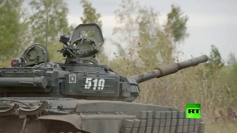 شاهد دبابات الجيش الروسي وقدراتها القتال 1