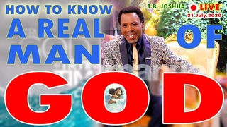 TB Joshua EXPLAINS - HOW TO KNOW A REAL MAN OF GOD!
