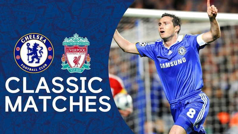 Chelsea 4 4 Liverpool Frank Lampard Double Puts Chelsea Through Champions League Highlights