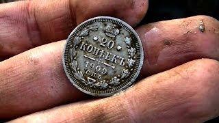 Поход по бывшей УЖД к лагерю ГУЛАГа и поиск монет в старом урочище 167