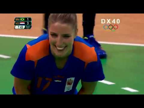 Brazil vs Netherlands ● Full Women's Handball Quarter final ● Olympic Games Rio 2016