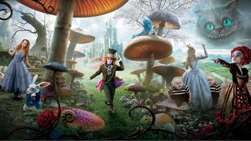 Алиса в Стране чудес Alice in Wonderland 2010 Года Фильм