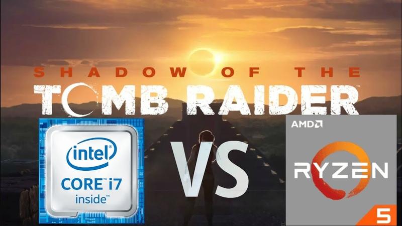 Shadow of the Tomb Raider i7 4930K xeon e5 1650v2 4 6GHz vs Ryzen 5 2600 4GHz