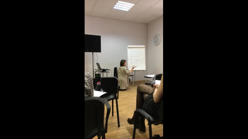 Клуб ораторов Выступление Юлии Густовой