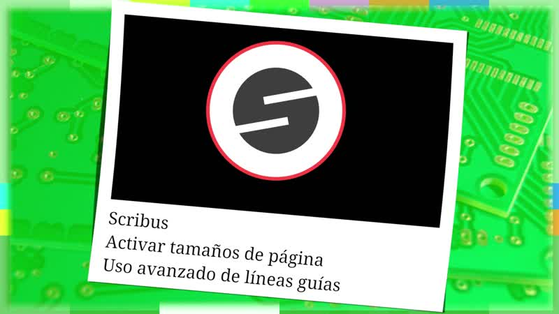 Scribus 3 Tamaños de página uso avanzado de líneas guías