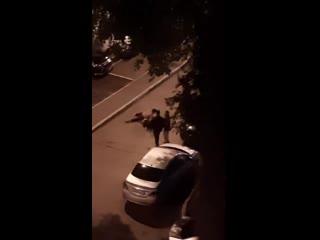 Улица Газовиков, 3. Местные разборки у алкоголиков.