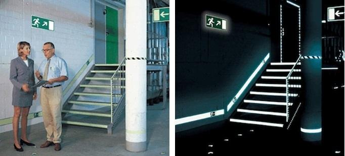 Фотолюминесцентные эвакуационные системы, изображение №2