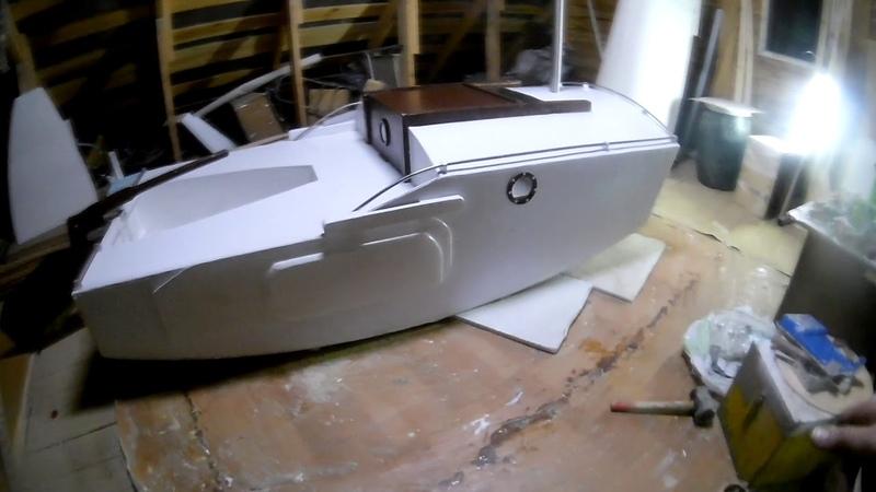 постройка мини яхты Ocean Explorer V2