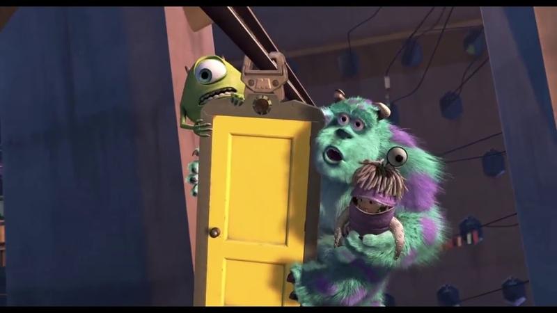 Финальный отрывок Салли и Майк ищут дверь Бу Корпорация Монстров Monsters Inc 2001