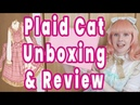Plaid Cat by Wheat House Unboxing Review