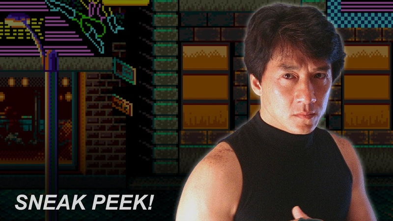 SNEAK PEEK Jackie Chan dubbed with 'Streets of Rage 2' game sounds RetroSFX