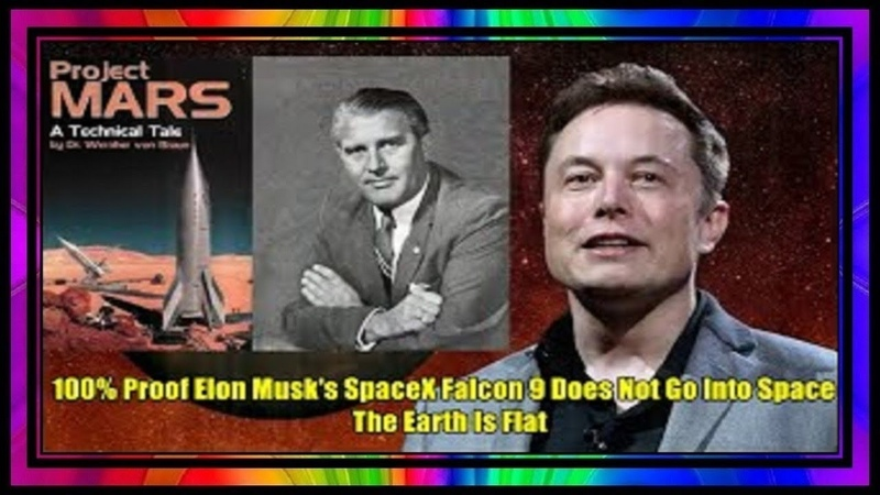 100% Proof Elon Musk's SpaceX Falcon 9 Does Not Go Into Space