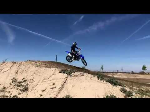 Josh Hill riding a 2-stroke at KCRP