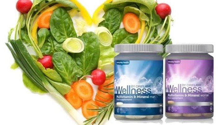Витамины Велнесс от Орифлейм. Витамины wellness.