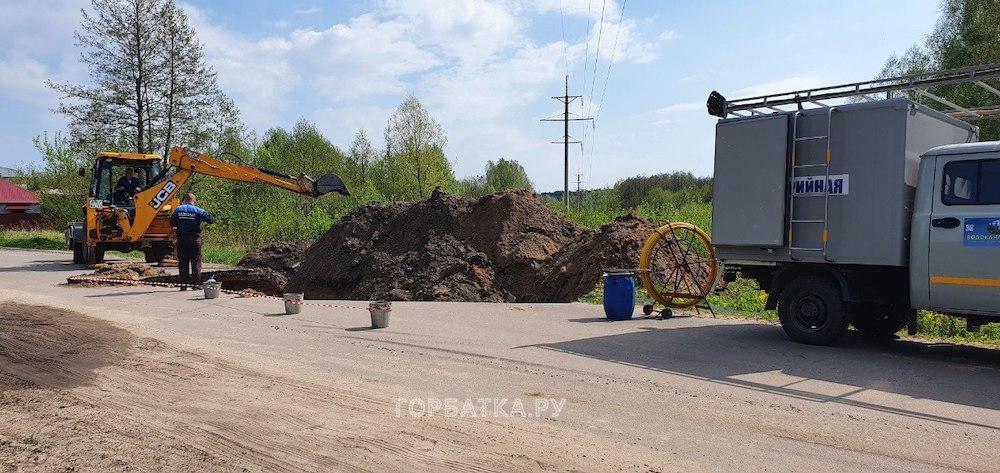 «Водоканал» в кратчайшие сроки устранил аварию на напорном канализационном коллекторе