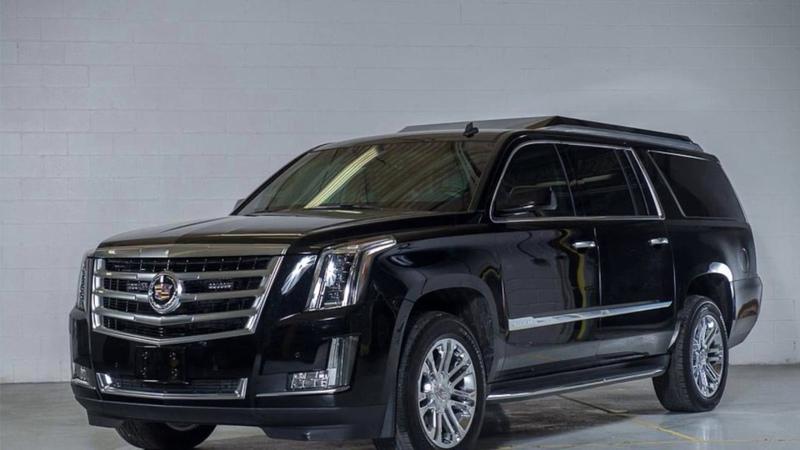 INKAS® Armored Cadillac Escalade Limo V1