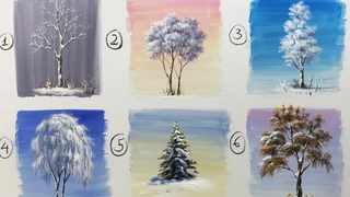 Winter serie #6 Top 6 Winter Tree Acrylic Paintings Everyone Should Know