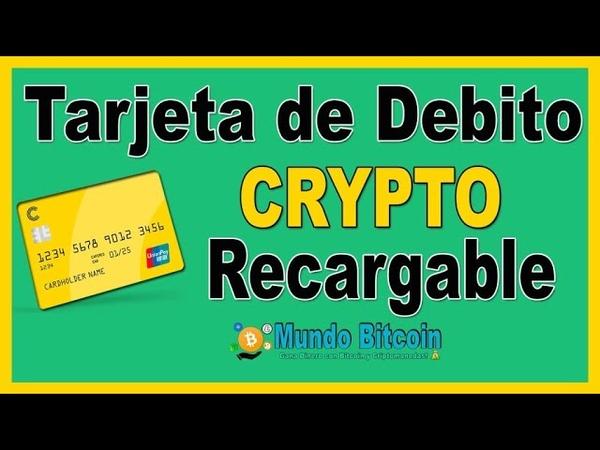 💳 Tarjeta de DEBITO Recargable con Criptomonedas 👉 Compra y Vende BTC Fácil desde el Móvil 📱