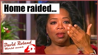 OPRAH WINFREY FLORIDA HOUSE RAIDED FOR CHILD ABUSE VIDEOS - REPORT FROM SCENE [HD]