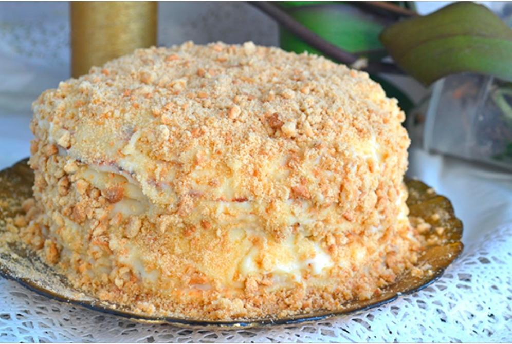 """Торт """"пломбир"""" без выпечки. Нежный, быстрый, недорогой и ОЧЕНЬ вкусный!"""
