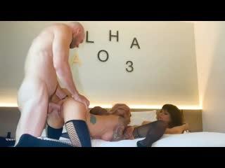 Johnny Sins - Picking up PornStars Threesome