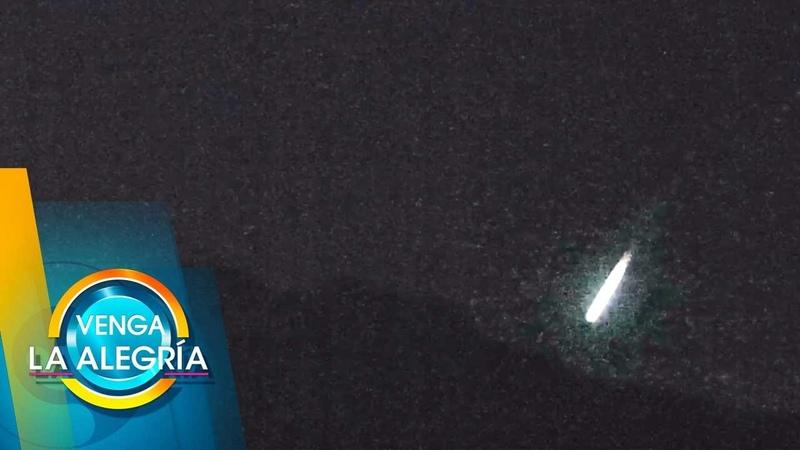¡No es un meteorito! Jaime Maussan afirma que esa luz podría ser un OVNI.| Venga La Alegría