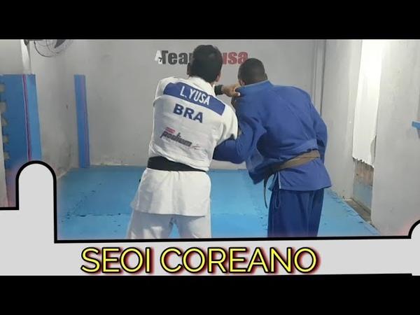 Técnica de Judo 3 seoi coreano