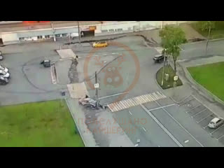 Разбили каршеринг в Бирюлёво