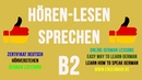 German Listening B2 | Hörverstehen B2 | 3