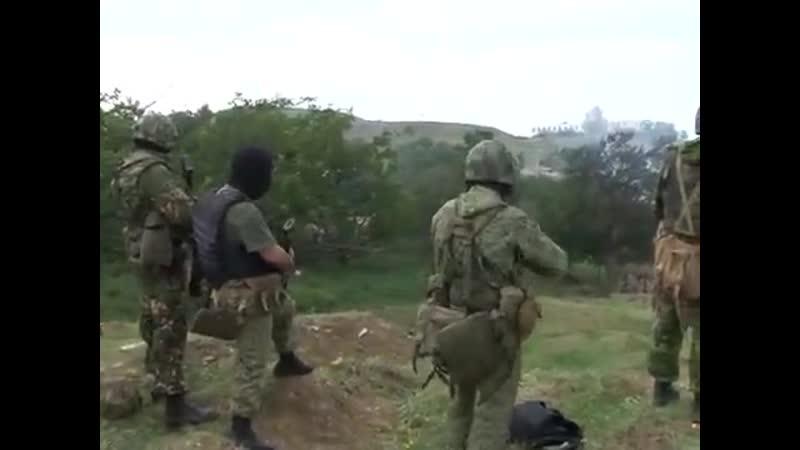 СОБР МВД России уничтожает боевиков в Дагестане