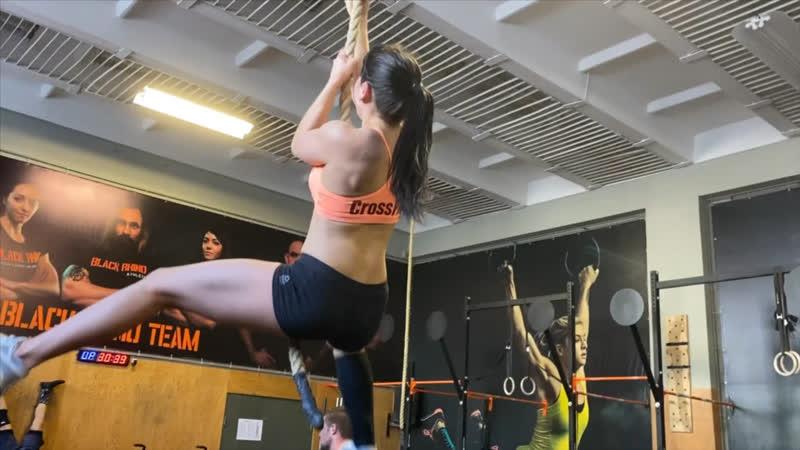 WOD с топовым атлетом участником CrossFit Games 2019 🇷🇺