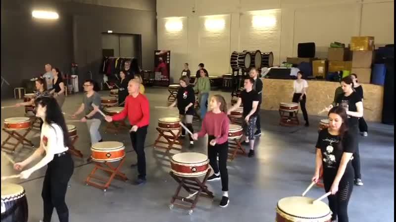 Японские барабаны тайко 2