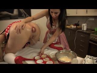 Грязные шлюшки готовят анальный омлет[2021, anal, ass to mouth, blowjob, fisting, prolapse, squirting, секс порно анал]