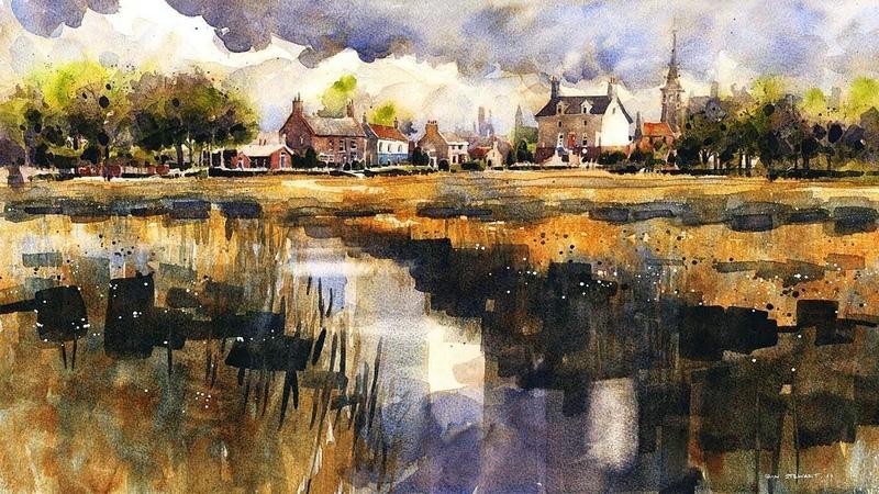 Акварельные пейзажи от художника Йэна Стюарта Iain Stewart