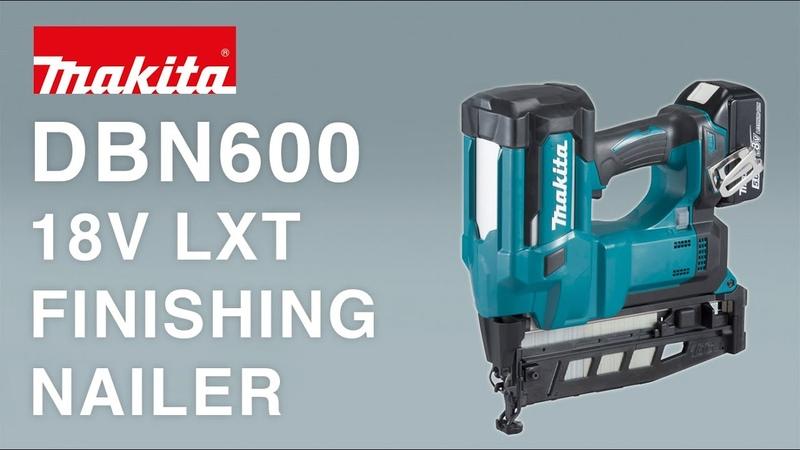 Makita DBN600 18V FINISHING NAILER 16G LXT