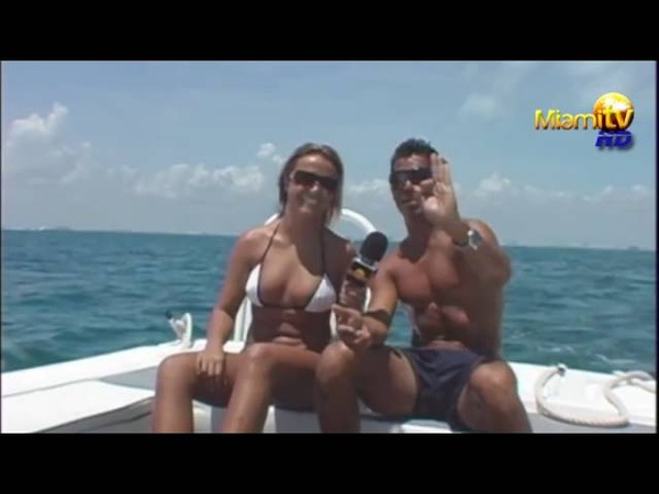 Miami Caliente TV Show 2009-2010 - Jenny Scordamaglia CANCUN