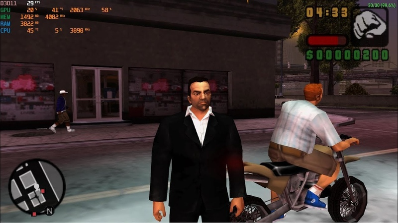 GTA Liberty City Stories 4K PC Gameplay