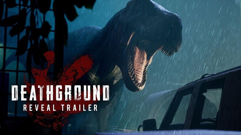 Deathground Reveal Trailer Dinosaur Survival Horror Game 2020