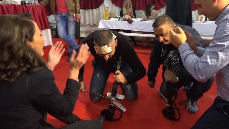VESELJE KOD MAKSE - KOLO DVE VIOLINE - DJABE I TIRA PIROMANCI - Ork. Madjionicari 2019 (UZIVO)