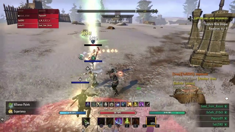 TESO PvP Small Scale GROUP by Soulgem Crazy Russians