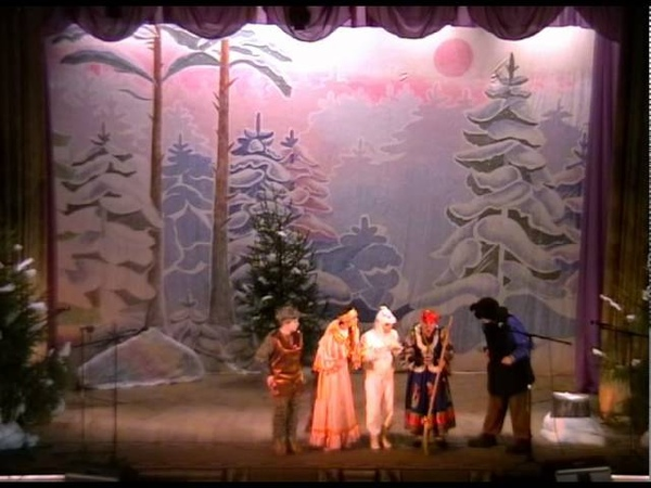 Новогодняя сказка для детей Счастливый билет Кулебаки Дворец Культуры им Дубровских